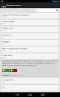 Screenshot of HBX Binaural Player