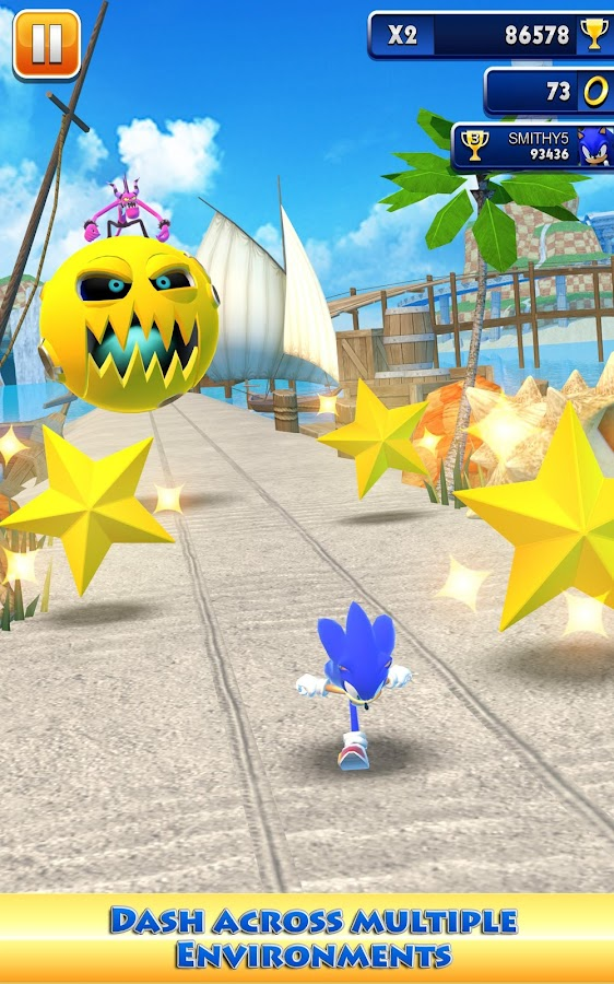 Sonic Dash - screenshot