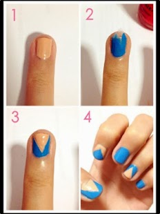 Nail art step by step android apps on google play nail art step by step screenshot thumbnail prinsesfo Image collections