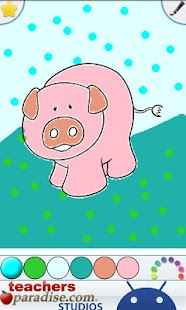 Farm Animals Coloring Book- screenshot thumbnail