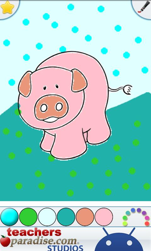Farm Animals Coloring Book- screenshot