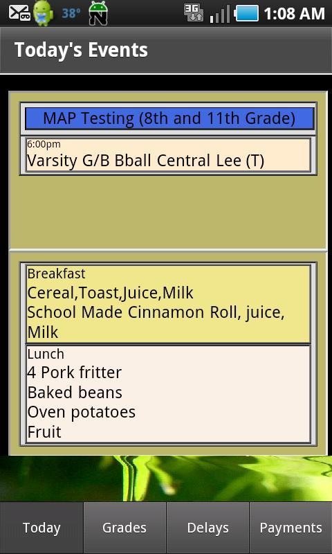 Parents - WB Schools - screenshot