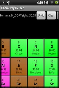 Chemistry Helper - screenshot thumbnail