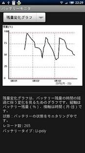 バッテリーモニタ- screenshot thumbnail