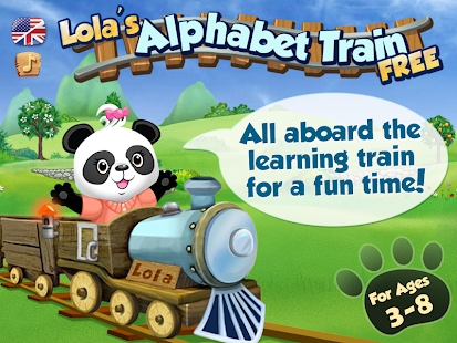 Lola's Alphabet Train FREE- screenshot thumbnail
