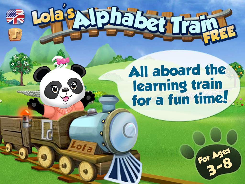 Lola's Alphabet Train FREE- screenshot