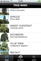 Screenshot of TreesUK