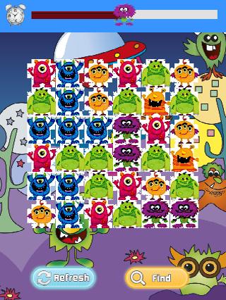 【免費解謎App】Monster Matching Game-APP點子