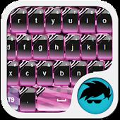 Zebra Storm Keyboard