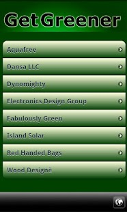 Go Green Eco-Directory- screenshot thumbnail