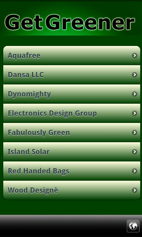 Go Green Eco-Directory- screenshot