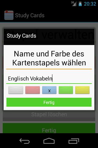Free Study Cards: Karteikarten