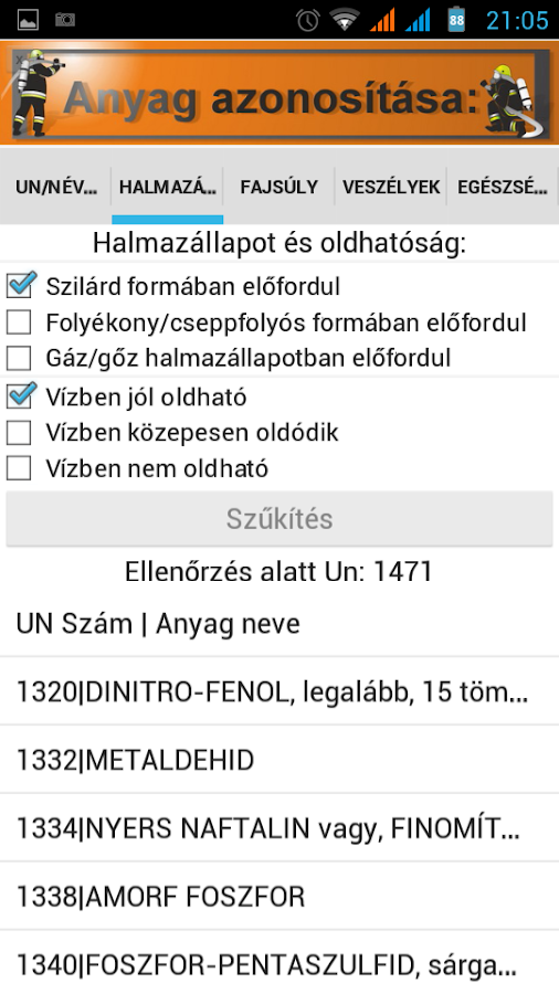 Un Szám Android Pro- screenshot
