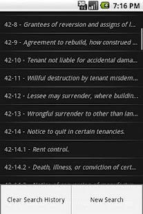 NCLaw Landl/Tenant Chapter 42- screenshot thumbnail