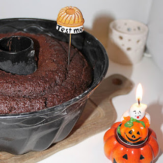 Moistest Double Chocolate Bundt Cake.