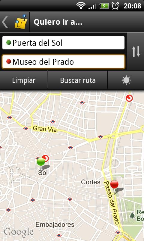 Madrid Bus - screenshot