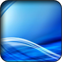 Blue 3D wallpapers icon
