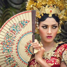 Balinese Girl by Purnawan  Hadi - People Portraits of Women ( bali, girl, dress, indonesia, traditional,  )