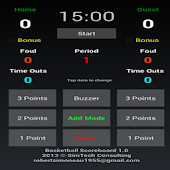 Basketball Scoreboard (Tablet)