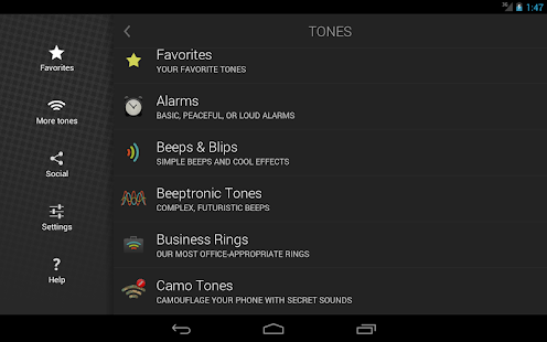 Ringtones Complete- screenshot thumbnail