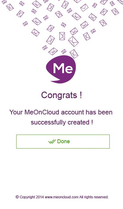 MeOnCloud- screenshot