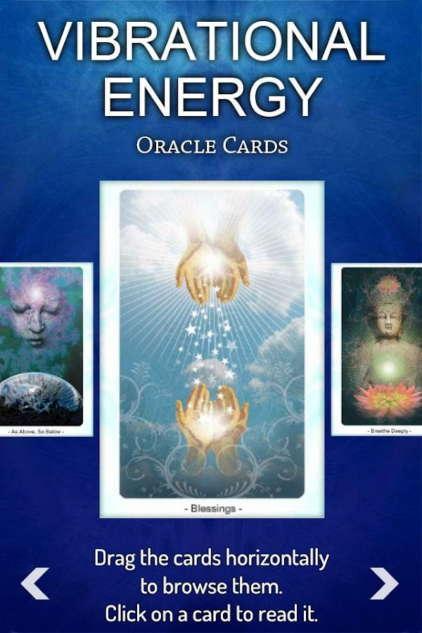 Vibrational Energy Oracle Deck- screenshot