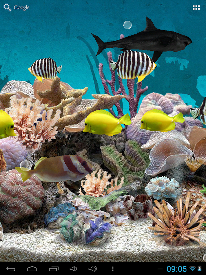 3d Aquarium Live Wallpaper Android Apps On Google Play