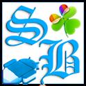 GOWidget Blue ICS Light Free logo