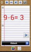 Screenshot of Calculo Schola learn math