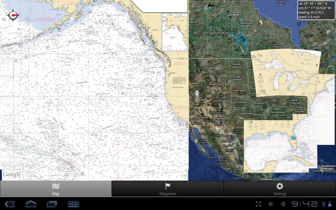 Nautical Charts - screenshot
