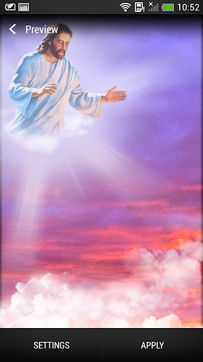 God Live Wallpaper screenshot