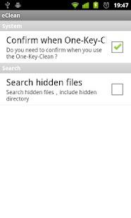 eClean- screenshot thumbnail