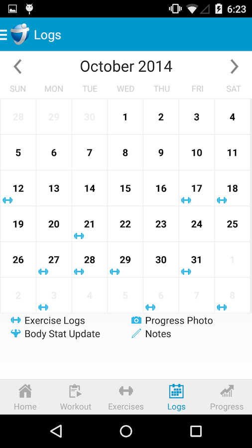 JEFIT Workout Exercise Trainer - screenshot