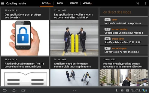 Business Lounge d'Orange - screenshot thumbnail