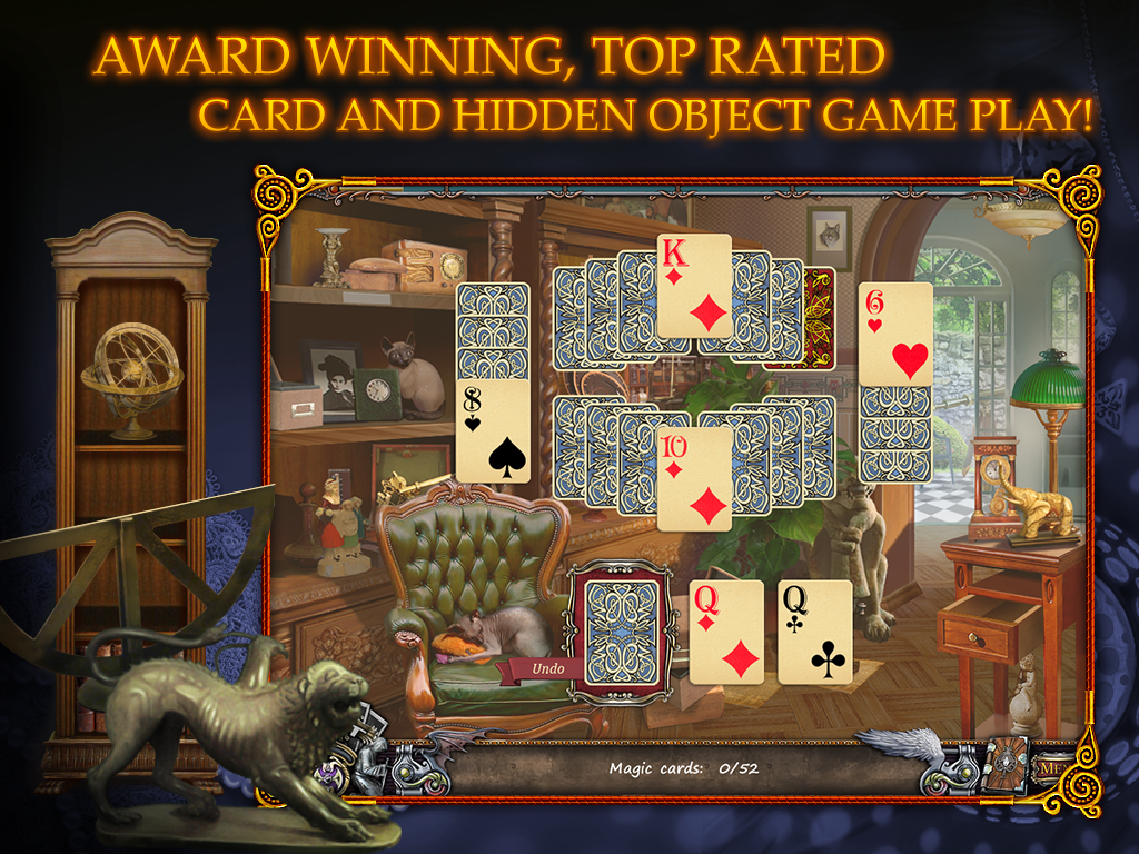 Solitaire Mystery HD (Full)- screenshot