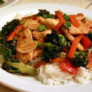 Spicy Chicken and Broccoli Stir Fry.