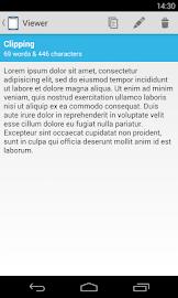 Clipper - Clipboard Manager Screenshot 3