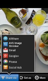 AVG Image Shrink & Share - screenshot thumbnail