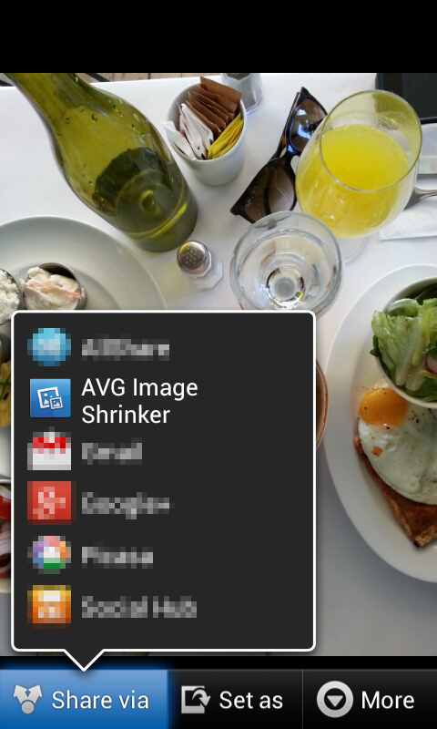 AVG Image Shrink & Share - screenshot