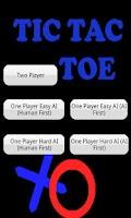 Screenshot of Tic  Tac Toe