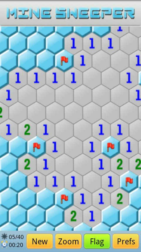 Super MineSweeper Free - screenshot