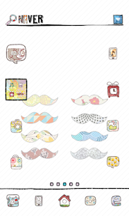moustache dodol launcher theme