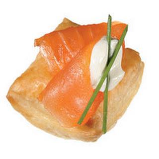 Smoked Salmon Puffs Recipe