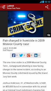 Chattanooga Times Free Press - screenshot thumbnail