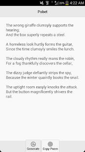 Pobet (Poem Generator) - screenshot thumbnail