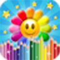 Flower Mania Drawing Pad icon
