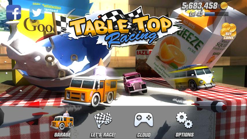 android Table Top Racing Premium Screenshot 0