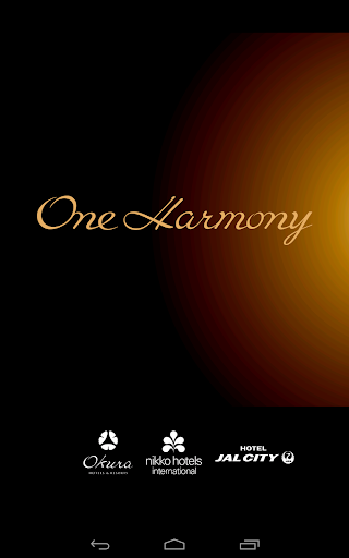 ホテルオークラ・JALホテルズ『One Harmony』