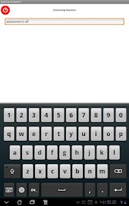 AutoCorrect Switch for Tablets screenshot 1