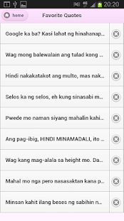 Tagalog Love Quotes - screenshot thumbnail